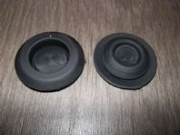 Rubber floor pan plugs